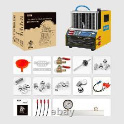 Autool Testeur D'injecteur De Carburant 4-cyliner Nettoyeur Ultrasonore Machine Car Motorcyle