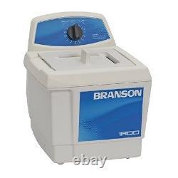 Branson M1800 0.5 Nettoyeur À Ultrasons Gallon Avec Minuterie Mécanique Cpx-952-116r Nouveau