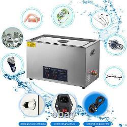 Chauffe-eau À Ultrasons De 30 Liter Pour L'industrie De L'acier Inoxydable Avec Timer