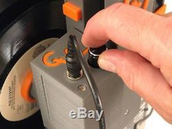 Cleanervinyl Easy6 Ultrasons Disque Vinyle Nettoyant Pour 6 Vinyls W. RPM Contrôle