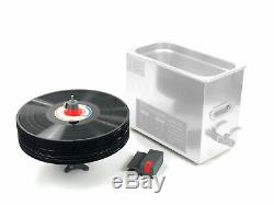 Cleanervinyl Pro Ultrasons Disque Vinyle Cleaner Jusqu'à 12 Enregistrements