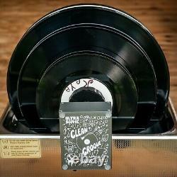 Cleangroove V2 Record Ultrasonic Cleaner Nettoyeur De Vinyle À Ultrasons 45tr Lp