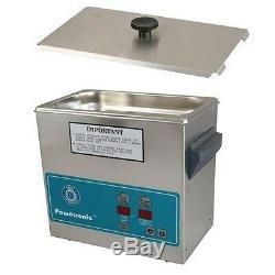 Crest Powersonic Nettoyeur À Ultrasons 0.75 Gallon Minuterie Et Chauffage P230h-45 Et Panier