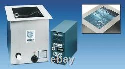 Crest Ultrasonic 5 Gallon 500w Nettoyeur Industriel