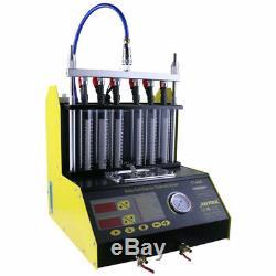 Ct200 À Ultrasons Injecteur Cleaner Tester La Machine 6 Cylindres Pour Voiture Moteur