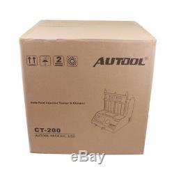 Ct200 Injecteur De Carburant De Dépôt Carbone Cleaner Testeur Essence Voiture Motorc Ultrasons