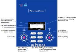 Derui Ultrasonic Cleaner 4.5l Dr-p45 Machine D'hôpital Dentaire De Laboratoire À Caractéristiques Complètes