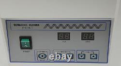 Digital Dental 5l Lab Nettoyage Des Pièces À Main Ultrasonic Cleaner Dentist Device Ups