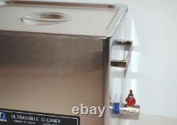 Dsa280se-gl2 14,5l 3.8gal 880w Dual 20khz 40khz Cleaner Ultrasonique + Basket +lid