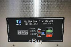 Dsa420se-gl2 20l 5.3gal 1120w Double 20 / 40khz Digital Ultrasons Nettoyant Chauffe