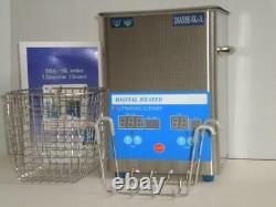 Dsa50se-sk2 Ensemble Complet De Qualité Industrielle 3l 3.17qt 250w Nettoyant Ultrasonique Numérique