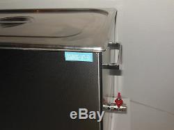 Dsa800se-sk2 30l 8gal 1600w 40khz Digital Ultrasons Nettoyant + Panier Pièces + Couvercle