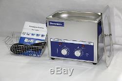 Durasonix 3,2 L Nettoyeur À Ultrasons Minuterie De Chauffage Inoxydable