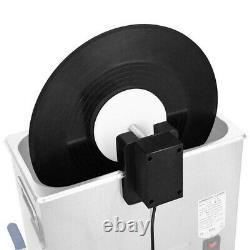 Ensemble De Machine Réglable De Machine De Nettoyage D'enregistrement De Disque De Vinyle Ultrasonique