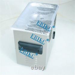 Erikc Diesel Injector Kit De Nettoyage 220 V, 3l Ultrasons Machine De Nettoyage Injector