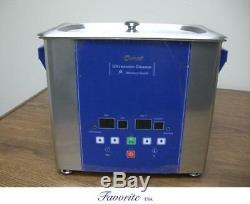 Eumax 3 Litres 3/4 Gallon Grande Capacité Nettoyeur Ultrasonique Chauffé Numérique Nouveau