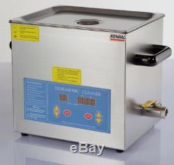 Industrielle 12 Litres 660 Watts Chauffant Ultrasons Nettoyant Hb612