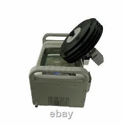 Isonic P4875 Nh Mvr5 Motorized Ultrasonic Vinyl Record Cleaner 2 Gal 7.5l 110v