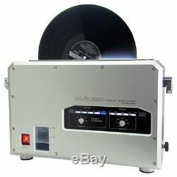 Klaudio Kd-cln-lp200 Lp Vinyl Record Nettoyeur À Ultrasons Avec Sèche Kdclnlp200