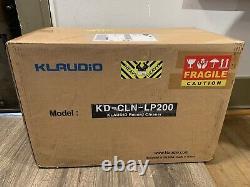 Klaudio Lp200 Lp Record Ultrasonic Cleaner Nouveau Dans Sealed Box. Rare Difficile À Obtenir
