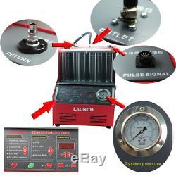 Lancement Cnc602a Ultrasons Injecteur Cleaner + Testeur 110v Transformateur Pour Us