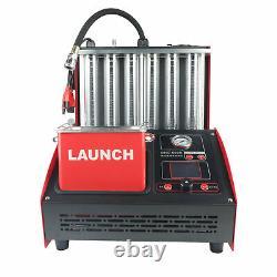 Lancement Cnc603c 6 Cylindre Ultrasonic Injecteur Nettoyeur Auto Test Computer Control
