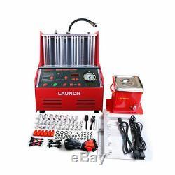 Lancement Ultrasons Injecteur Cleaner Testeur Pour Véhicules À Essence 220v 6-cylinde