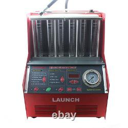 Lancer Cnc602a 6 Cylindres 110v Ultrasonic Fuel Injector Cleaner Tester Machine