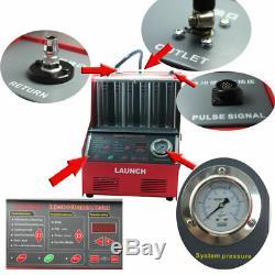 Lancer Cnc602a Ultrasons Injecteur Testeur Nettoyant Pour Essence Car Auto