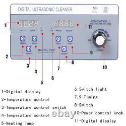Liftable Vinyl Record Cleaner Lp Album Disque Ultrasonic Deep Washing Machine110v