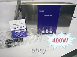 Long Tank Ultrasonic Clean Machine Degas Sweep 400w Nettoyeur Numérique Dr-ds120