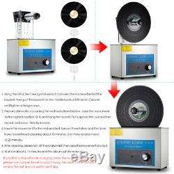 Lp Vinyl Record Cleaner Ultrasons Relevable Timing Machine À Laver Turntable