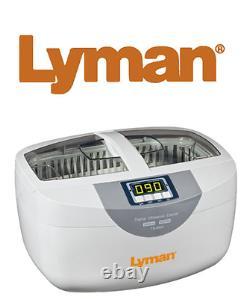 Lyman Turbo Sonic 2500 Nettoyeur De Boîtier Ultrasonique Nouveau! # 7631700