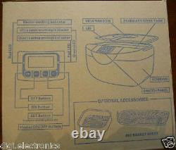 Machine De Nettoyage Ultrasonique + Chauffage + Minuterie = Lunettes De Bijoux Plus Propres Outils