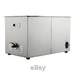 Nettoyage Bijoux 30l Numérique À Ultrasons Nettoyeur Machine Avec Chauffage, Minuterie