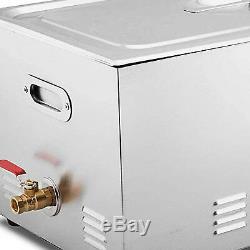 Nettoyeur À Ultrasons 30 L Litres Industrie En Acier Inoxydable Support Dégivrants Avec Minuterie