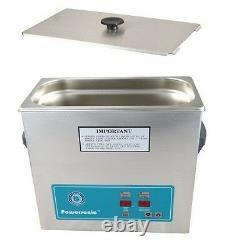 Nettoyeur À Ultrasons Crest Powersonic 1 Minuterie Gallon Et Chauffage P360h-45 & Panier