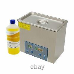 Nettoyeur À Ultrasons Kit 3 Litres Métal Réservoir En Plastique Accueil / Cleaner Professional