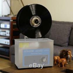 Nettoyeur À Ultrasons Rack Lp Vinyl Record Relevable Lavage Support Nettoyage En Profondeur