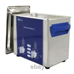 Nettoyeur Ultrasonique 3l Avec Degas Sweep 160w Dr-ds30 Dental Lab Stainless Steel