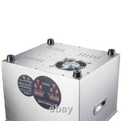 Nettoyeur Ultrasonique 960w 15 L Industrie De L'acier Inoxydable Chauffé Avec Écréreur Numérique