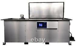 Nettoyeur Ultrasonique Automatique Avec Déversoir Optionnel Et Jet De Pulvérisation 106 Gallons