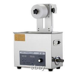 Nettoyeur Ultrasonique Liftable Pour Vinyl Records Lp Album Disc Washing Machine