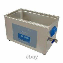 Nettoyeur Ultrasonique Numérique 20l Réservoir Chauffé Ultrasonic Bath Cavitek Technologie