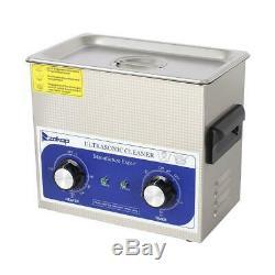 Nettoyeurs À Ultrasons Équipement De Nettoyage 3l Litres Industrie Support Avec Minuterie