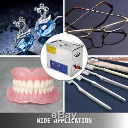 Nettoyeurs À Ultrasons Équipement De Nettoyage 6 Litres Chauffe-minuterie Numérique Dentaire