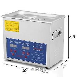 New 3l Litres Industrie Nettoyeurs À Ultrasons Nettoyage Équipement 220w Withtimer