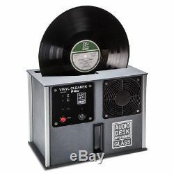 Nouveau Audio Desk Vinyle Cleaner Pro Systeme Lp Ultrasons Reccord Nettoyage