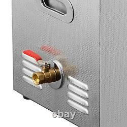 Nouveau Chauffe-nettoyant Ultrasonique À Ultrasons De 22 Litres En Acier Inoxydable De 22 Litres Avec Timer