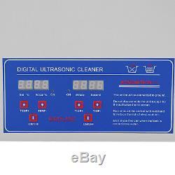 Nouveau En Acier Inoxydable 22 L Litres Industrie Chauffant Chauffe Nettoyeur À Ultrasons Withtimer